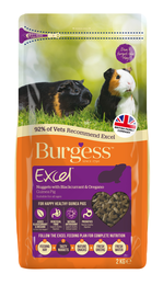 Burgess Excel Guinea Pig Blackgurrant and Oregano 2 kg