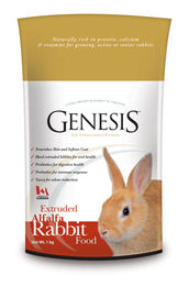 Genesis Rabbit Alfalfa kanipelletti