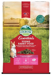 Oxbow Essential Young Rabbit Food - Uutuus!