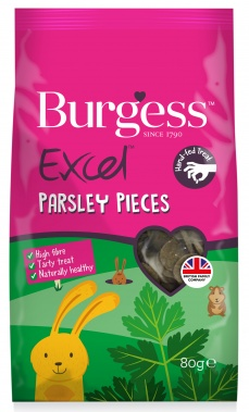 Burgess Excel Parsley Pieces 80 gr - Uutuus!