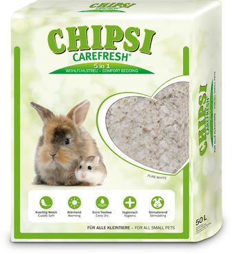 Chipsi Carefresh pure white 50 l