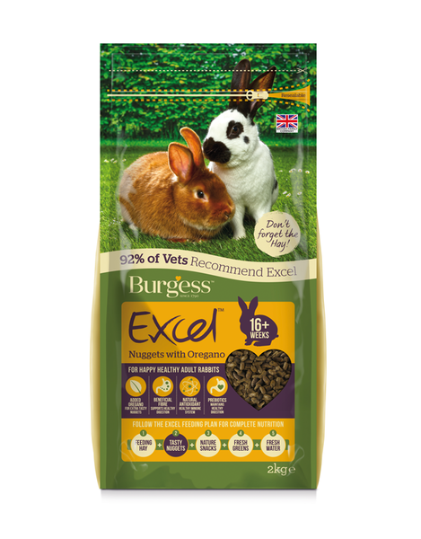 Excel Rabbit Adult Oregano 2 kg