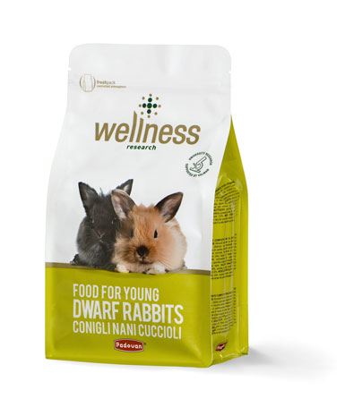 Wellness Young Dwarf Rabbits 1kg